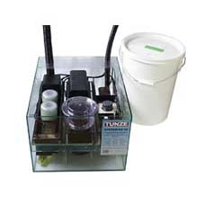 "Kit 19 For aquariums with  500 - 900 (110 - 197 gallons) 550 x 440 x 330 mm High ( needs 510 total height ) / 6 mm - contains: Filter container made of glass 1292.100 System quick run filter's  853 & 851.76 Filter pump Turbelle ® 3000/2 Osmolator 3155 with infrared technology and alert emitter Storage container 5002.25  System bio reactors 1 X 876 & 2 X 1676 Bio connection 3178.710 System Protein Skimmer 235/3 Delivery pump Turbelle® 7400/2 (4,000 l/h879 gallon) Height max 2.2 m - 98.4"" Volume 38 l - 8.3 gallon"