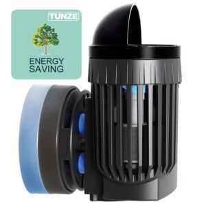 """Tunze Nano Stream 6020.000 For aquariums from 40 to 250liters (10 to 66USgal.). Circulation performance:approx. 2500l/h (660USgal./h). Power consumption: 4W Voltage / frequency: 230V/50Hz (115V/60Hz) Cable length: 2m (78.7in.) Dimensions without flow deflector: 65mm (2.56in.) x 60mm (2.36in.) x 72mm (2.83in.): outlet ø40mm (1.57in.) Silence Magnet Holder up to a glass thickness of 12mm (3/8"""")."""