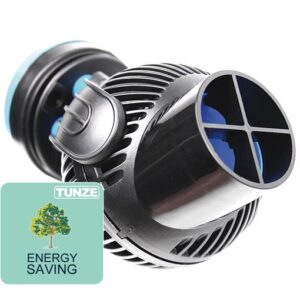 Tunze Nano Stream 6025.000 For Aquariums from 40 - 200 Litres Flow energy Consumption - 7W Voltage - 230V|/50Hz Cable Length - 2 M Dimensions - 70 mm Outlet - 40 / 15 mm Magnets suitable for glass up to 12 mm