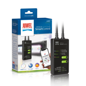It's possible to comfortably program and control your Juwel HeliaLux light units with your mobile phone, tablet or PC via WiFi using the HeliaLux SmartControl.