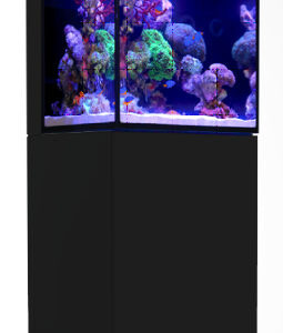 The all new MAX®NANO features the very latest in reef-keeping technology including AI's Prime HD LED lighting with integrated Wi-Fi control, REEF-SPEC® filtration and circulation systems, an Automatic Top-Off unit and an easy access power center. NANO in name only, this 45cmrimless, ultra-clear glass cube has all of the advanced REEF-SPEC®features that are the hallmark of the MAX®range of complete reef systems. The complete filtration system is hidden in the rear sump that is topped by a rotatable screen for easy access. Fed by a unique surface skimmer that directs the water to a bespoke micron filter bag, the rear sump houses a silenced REEF-SPEC® protein skimmer, a 960lphEuropean ECO circulation pump and 100g of REEF-SPEC® Carbon to keep the water crystal clear. The design of the rear sump together with the automatic top-off reservoir makes the MAX®NANO self-sufficient for about 3 days. Lighting is provided with the all-new ReefLED 50 LED unit is fully controllable via Wi-Fi and is attached to the aquarium using Red Sea's custom lighting mount, which can be rotated to provide full access to the aquarium for reefscaping and maintenance. An optional stylish marine-spec cabinet that follows the same contour as the glass is available in black and white, giving the complete unit a contemporary look and feel. Key features of the all-new MAX®NANO: 75 litre, rimless 8mm ultra-clear, beveled glass aquarium with rear sump ReefLED 50LED with App control REEF-SPEC® filtration including professional protein skimmer, ECO circulation pump, micron filter bagandREEF-SPEC®Carbon Automatic Top-Off unit with built-in reservoir Integrated control unit for easy feeding and maintenance Optional Marine-Spec cabinet ( Not Included)