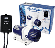 """High quality, compact DC pump suitable for salt and freshwater aquariums Low voltage (24v) Incorporates the latest electronic pump technology for high power and flow rates combined with efficient energy consumption Super quiet running Max watt: 100w - min watt 10w Variable speed control with up to 20 different speed settings, offering precise adjustment of water flow for optimum performance Integrated feed timer shuts off the pump for 10 minutes to allow easy feeding """"Soft Start"""" feature to increase impeller life Maximum flow rate: 12000 litres per hour Outlet - 25/32mm"""
