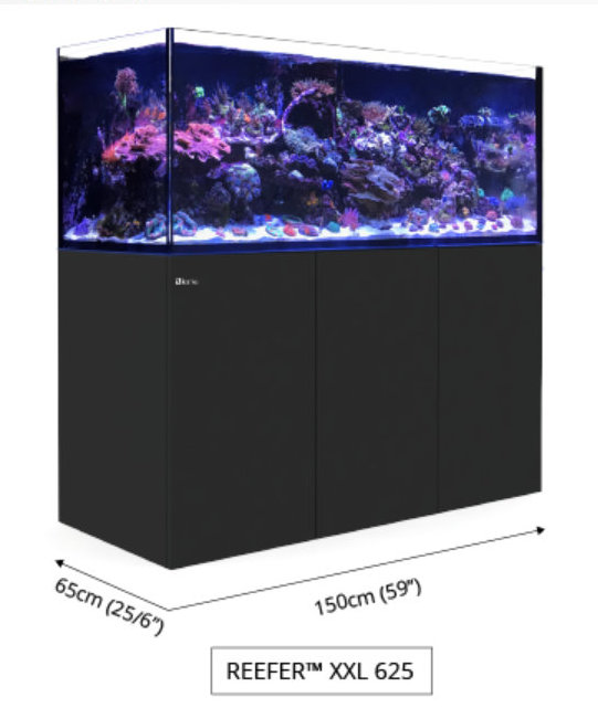 Red Sea XXL REEFER™ Systems Rimless Reef Ready Systems for advanced hobbyists REEFER™ Concept Red Sea's REEFER™ series of Reef Systems, provide advanced hobbyists with a solid foundation forbuilding a fully featured reef or marine aquarium. The REEFER™series combines a contemporary, rimless,ultra-clear glass aquarium with a stylish cabinet and a comprehensive water management system,including a professional sump with integrated automatic top-up, and Red Sea's unique silent down-flowsystem. Incorporating technologies originally developed for Red Sea's all-in-one MAX® coral reef systems, theREEFER™ series is designed for ease of operation while enabling the advanced hobbyist to install anunlimited choice of lighting, filtration, circulation and controllers to create a uniquely customized system. Features of the Red Sea XXL REEFER™include: Rimless, ultra-clear, beveled edge glassaquarium Elegant marine-spec cabinet Professional sump with constant heightskimmer chamber and micron filter bags Silent, regulated down-flow system withemergency overflow Integrated automatic top-up system withreservoir Assembly-ready piping – no gluing required XXL REEFER™ Specification REEFER™ aquariums are constructed from thick, beveled-edge, ultra-clear g