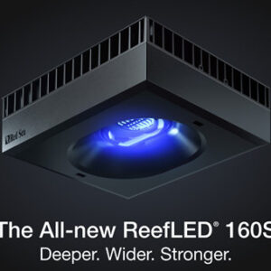 Red Sea Reefled 160s LED Light Deeper. Wider. Stronger. Red Sea's ReefLED® series is the result of years of research into the lighting needs of corals in artificial environments. Uniquely designed with a light intensity and spectrum that is 100% utilized by the corals, ReefLED lights are 100% reef-safe & 100% REEF-SPEC®, providing optimal growth, vivid colors, and an elegant gentle shimmer throughout the aquarium.