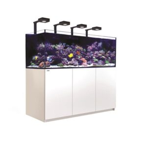 Red Sea XXL REEFER™ Systems Rimless Reef Ready Systems for advanced hobbyists REEFER™ Concept Red Sea's REEFER™ series of Reef Systems, provide advanced hobbyists with a solid foundation forbuilding a fully featured reef or marine aquarium. The REEFER™series combines a contemporary, rimless,ultra-clear glass aquarium with a stylish cabinet and a comprehensive water management system,including a professional sump with integrated automatic top-up, and Red Sea's unique silent down-flowsystem. Incorporating technologies originally developed for Red Sea's all-in-one MAX® coral reef systems, theREEFER™ series is designed for ease of operation while enabling the advanced hobbyist to install anunlimited choice of