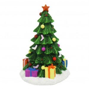 Christmas Tree Ornament ideal for all aquariums. Measurements - 10.5cm (l) x 9.5cm (w) x 16cm (h)