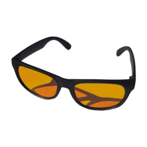 Coral Viewing Sunglasses See your corals true colours through D-D's Coral Viewing Glasses! Our orange tinted glasses remove the actinic blue light which dominates saltwater aquariums to help you see your corals and fish in a more natural light. You will be stunned at the extraordinary pop of colour once the blue is taken away. These glasses have UVA protection and eliminate reflected and scattered light. Not only does your tank look cool, but you look cool too! • Eliminating glare from computer screen • Reduce glare reflected off of roads, water, snow, and other horizontal surfaces • Reduces headaches • Prevents melatonin suppression therefore improving sleep • Ideal for many sporting activities including: cycling, driving, running, fishing, racing, skiing and climbing