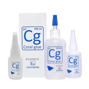 Ecotech Marine Elements Cg - Coral Glue Whether you're working with coral frags or sculpturing your live rock; this glue will get the job done.