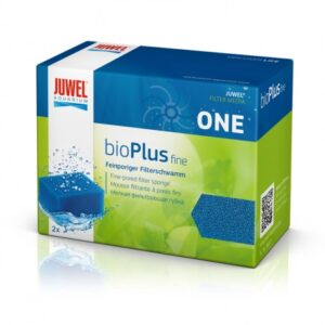 Bio Plus Filter Sponge Fine JUWEL Filter media are made to fit each filter system. Use the filter baskets for your filter system to make maintenance even easier. The coarse and the fine blue filter sponges house the most important bio - cultures, which are responsible to effectively clean the water. You should clean (only in dirty aquarium never under the tap ) or replace one sponge at a time every 3 - 6 months to maintain the right biological balance in your aquarium.