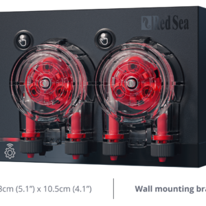 "Red Sea ReefDose is designed and built specifically for the daily supplementing of reef aquariums. ReefDose uses bespoke (patent-pending) single-drop-accuracy dosing heads together with an advanced controller that provides a full suite of features. The ""Dynamic Dosing Queue"" run by the controller combines the desired dosing plans for each head into one coordinated daily dosing schedule for the complete device. The queue is automatically updated after any settings changes, and reschedules any doses that are missed due to unscheduled events such as power outages."