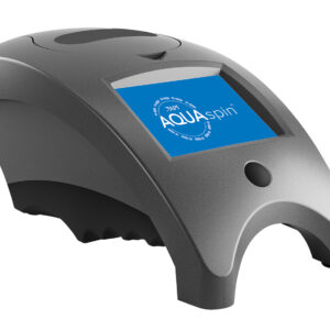 API AQUASPIN, a cutting-edge technology that combines speed and accuracy for the best aquarium and pond water analysis results anywhere, all in just two minutes! Using AQUASPIN is simple – all it requires is a small water sample from your customer, the AQUASPIN photometer and a new disk.