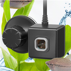The JUWEL SmartCam allows you to comfortably monitor your aquarium from anywhere. No matter whether you are on holiday, at the office or on the road, with JUWEL SmartCam you can always watch what is happening in your aquarium in real time via a live stream.